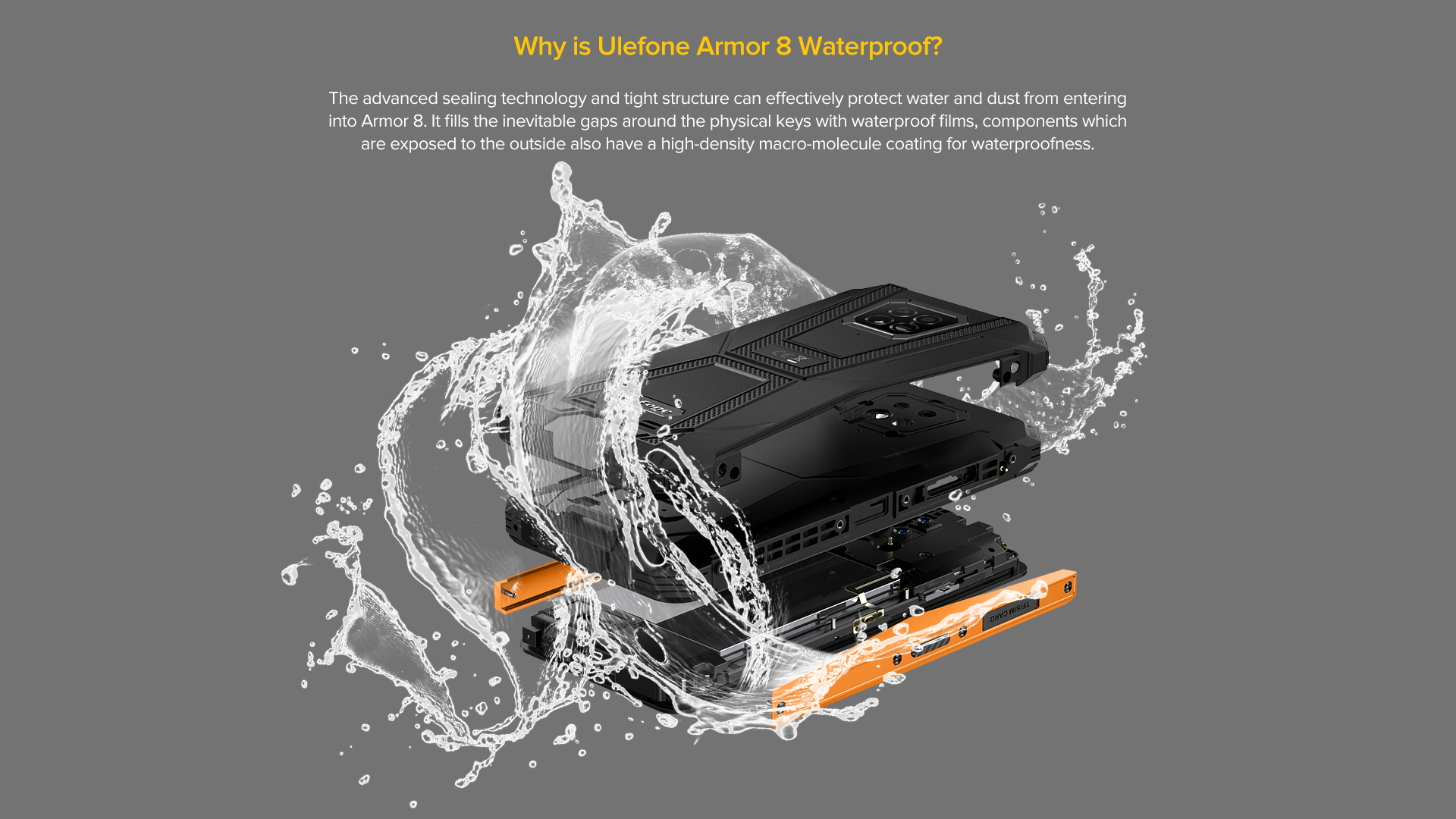 Ulefone armor 8 rugged phone