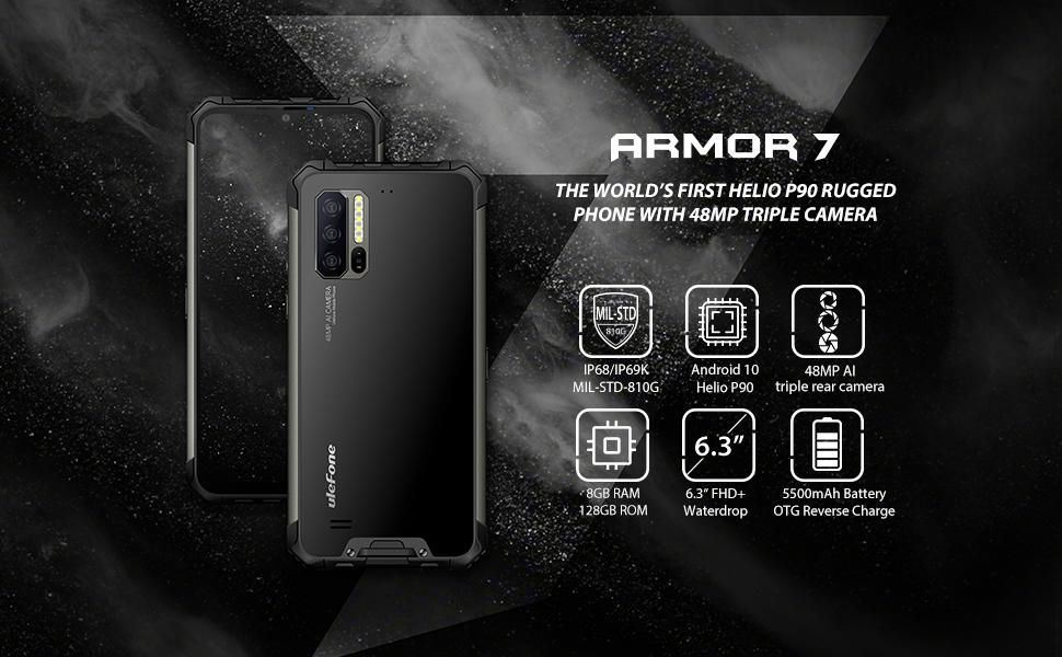 Ulefone Armor 7 rugged phone