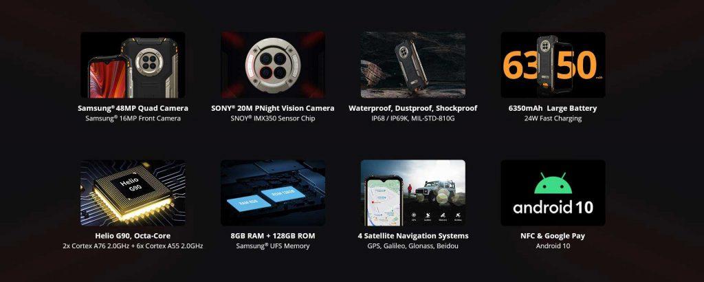 Ulefone Armor 11 VS Doogee S96 Pro