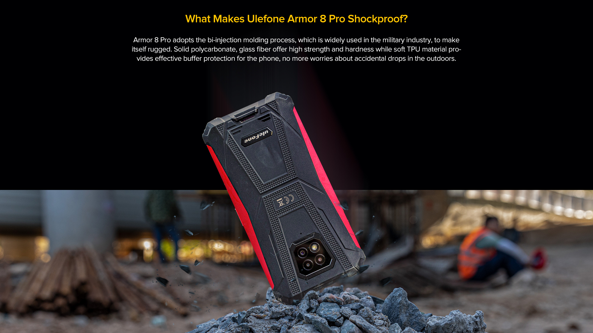 Ulefone Armor 8 Pro android 11
