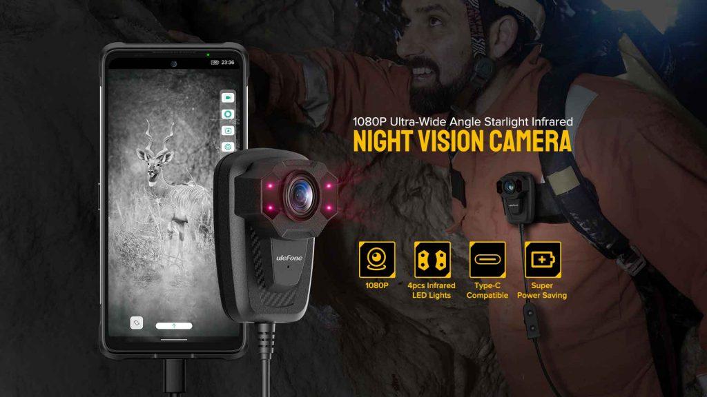 ulefone power armor 13 night vision camera